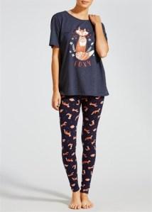 fox-print-pyjama-set